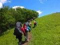 海坨山两日登山露营