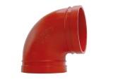 襯塑90度異徑彎頭鑄鋼襯塑90度異徑彎頭質優價廉