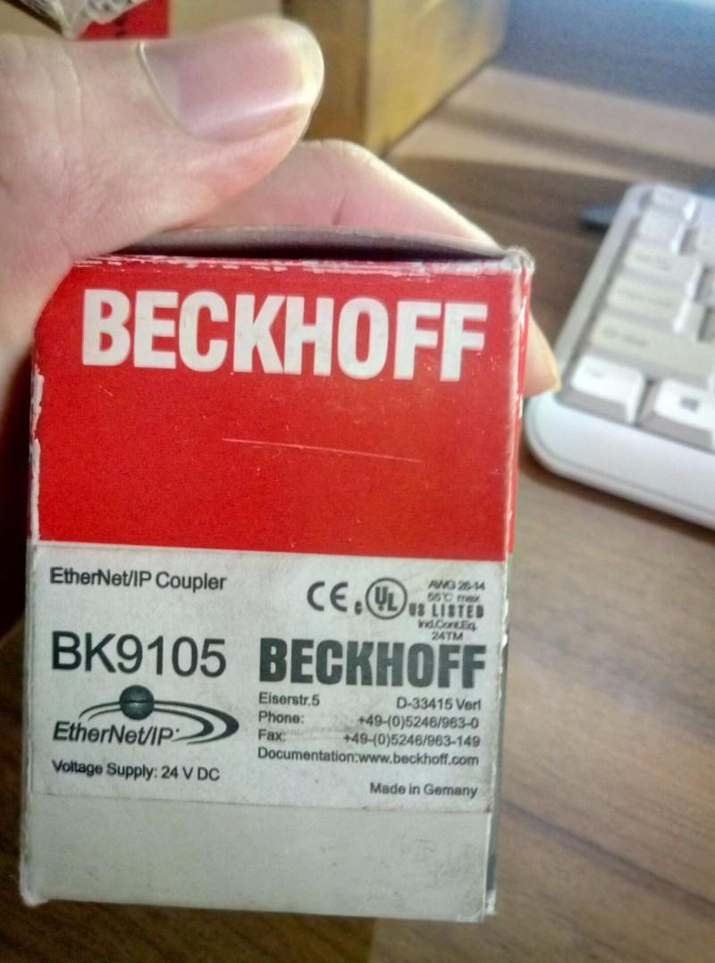BECKHOFF倍福模块ek9500耦合器 倍福卡件