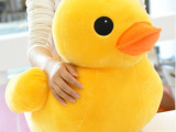 【厂家批发】香港大黄鸭公仔 小黄鸭玩偶 毛绒玩具批发 地摊玩具