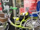 亲子自行车一辆,两个座位可带两孩
