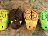 乌龟卡通保暖棉拖鞋 成人儿童双款 家居两