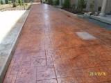 印模混凝土 彩色混凝土压花地坪材料 滁州压模地坪