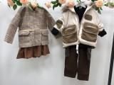 杭州品牌童装纯棉麻系列-吾名堂-原创设计师19新款走份批发
