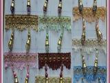 大灯泡 水晶珠子 窗帘配件 辅料花边 装饰金边