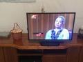 个人转让全真皮沙发3+1+1带电话小桌,实木电视柜