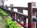 公园栏杆 校园葡萄架 仿木花箱 仿木垃圾箱