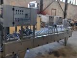 武汉吕工机械有限公司/武汉吕工全自动盒装鸭血灌装封口机价格