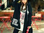 2014秋装新款 韩版骷髅头百搭连帽宽松女士卫衣外套大码 代理批发