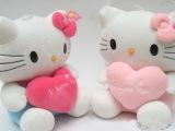 小额批发 现货 KT猫 凯啼猫公仔 毛绒玩具 可爱布娃娃 生日礼