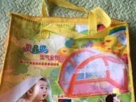 标准婴儿床,高大尚蚊帐。