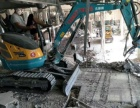 上海崇明专业一米宽微型挖掘机出租 室内拆除