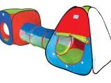 隧道3合1超大爬行帐篷   儿童过家家玩具屋 宝宝游戏屋 一件代