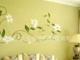 卡通墙贴纸 客厅电视机背景墙贴 深圳精美家居个性墙纸来料加工