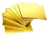H59 H62黄铜板铜块黄铜排铜片铜条可激光切割DIY加工等