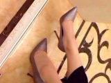 2014新款女单鞋 来自星星的你韩国爆款高跟鞋 明星同款女鞋批发