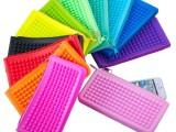 硅胶多色手机包_硅胶零钱包_硅胶化妆包_硅胶钱包手拿包