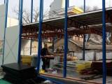 天津巖棉彩鋼板生產,東麗內走廊活動房設計