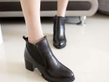 2013秋季新款女鞋时尚休闲尖头中跟鞋系带粗跟鞋低帮女鞋