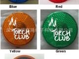 圆型LED闪灯/电子安全闪灯/颜色多选