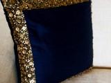 源头工厂设计生产串珠抱枕 珠绣靠垫 棉麻钉珠靠枕 丝带绣抱枕