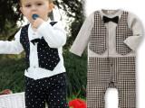 婴儿衣服 宝宝连体衣男婴儿春装爬爬服 厂家直销杭州童装批发市场