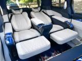 深圳南山别克gl8改装真皮航空座椅沙发床内饰高端定制