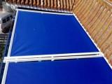 廠家直銷雙軌道遮陽天幕蓬,陽光房戶外遮陽伸縮天幕棚