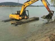 型号215水陆挖掘机租赁水陆挖机出租服务专业