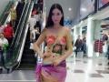 潮州礼仪模特庆典公司提供优质人体彩绘模特,行为艺术