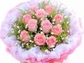 金华全市鲜花配送214情人节玫瑰生日鲜花开业花篮