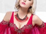高端定制玛奇朵美背调整型文胸罩 中心胸聚拢调整型内衣收副乳
