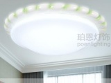 树脂LED客厅吸顶灯 儿童房卧室灯餐厅走