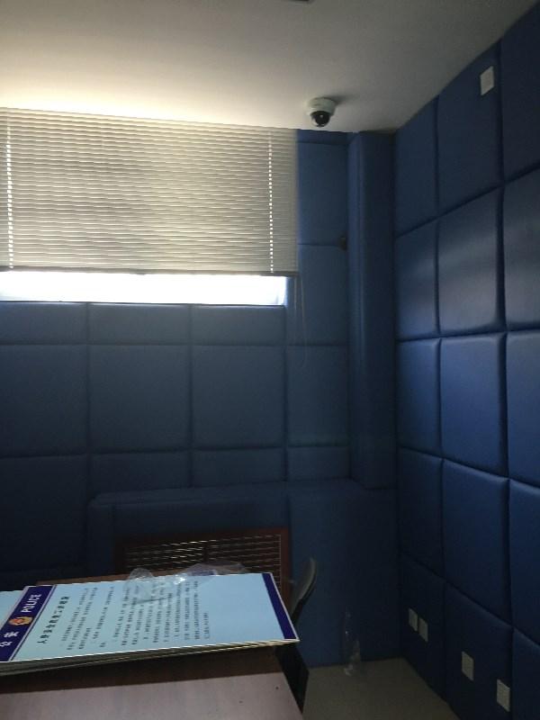防撞背景墙软包定做审讯室防撞软包影音室吸音阻燃软包定做