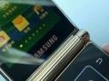 三星大器W2013心系天下电信双卡双待CDMA天翼双屏翻盖商