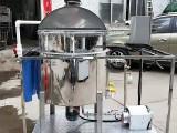 深圳廠家洗發水洗衣液生產設備 小型創業液體不銹鋼攪拌機