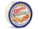正品印尼原装进口丹麦Danisa皇冠蓝罐曲奇饼干454g礼盒饼干