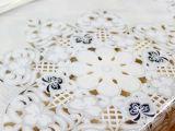 沁园春 新古典后现代防水免洗透明餐桌垫水晶PVC防水桌垫软玻璃