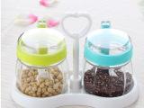 康兴达新款玻璃调味罐 厨房调味 欧式创意 出口 可定制