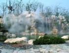 水云间人造雾景观造雾系统公园假山湖面喷雾仙境雾气安装设计