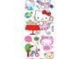 卡通静电贴KITTY猫浴室卫生间瓷砖贴-玻璃贴纸ADL237