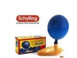 欧美原单schylling木制气球船 小孩子较喜欢的经典戏水儿童