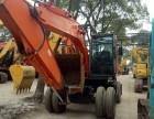 精品日立二手挖掘机 日立160W轮式 低价出售 三大件质保