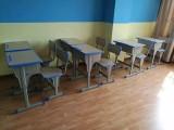 合肥全新中小培训桌椅 学校教学用具 大学生宿舍公寓床出售