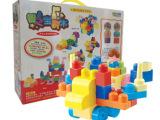 幼儿园教具 大颗粒盒装积木 儿童益智拼插玩具 益智积木 拼装玩具