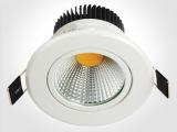 新款LED筒灯外壳套件 COB筒灯外壳 白漆筒灯配件