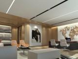 西安现代型办公室装修设计图