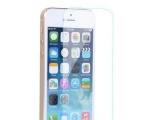 直销白片phone5S钢化玻璃膜 苹果5S手机钢化膜