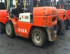 二手杭州3吨4米高门架叉车,合力电动二手叉车