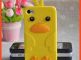 2014苹果手机壳工厂 韩国小鸡硅胶手机套 Iphone5手机壳